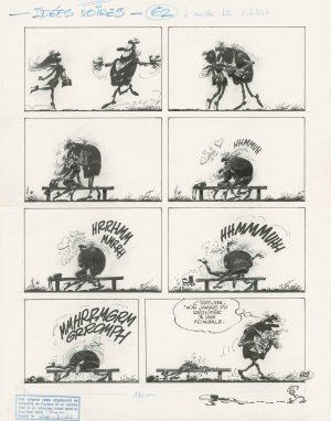 Idées Noires André Franquin série limitée Chromaluxe